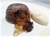 Chocolate-Fondant and Salted caramel Flavour Pearls