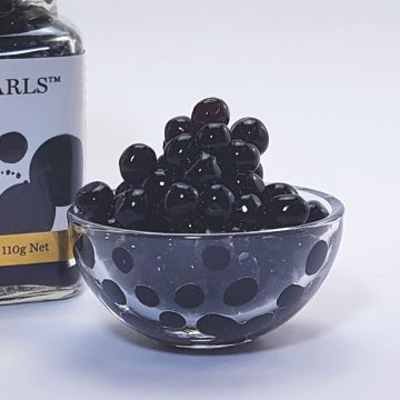 Soy Flavour Pearls by Peninsula Larder are a gourmet garnish for your favourite foods