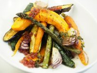 Roast vegetable and Pepperberry & Cherry Flavour Pearls