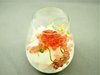 Lemon Granita with Lime & Bitters Flavour Pearls